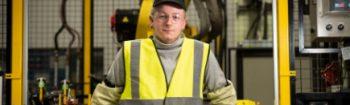 Joe Dickson, 20, Kickstart trainee at Unipres